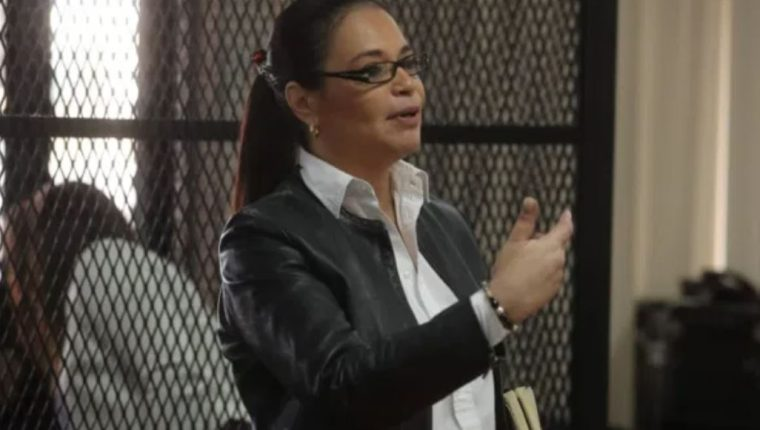 La exvicepresidenta Roxana Baldetti fue condenada a 15 años de cárcel por encabezar una red que pretendía defraudar al Estado mediante la supuesta limpieza del lago de Amatitlán, en el cual Amsa estuvo involucrada.  (Foto Prensa Libre: Hemeroteca PL)