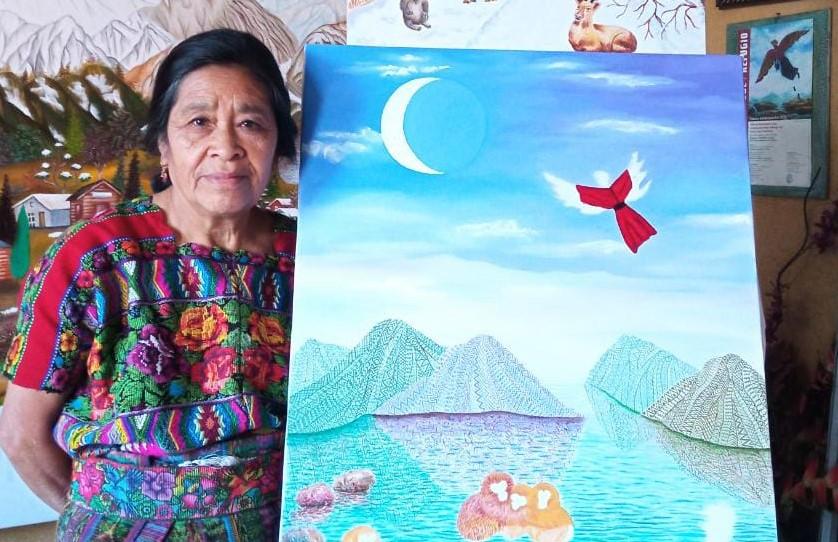 Obras de la artista maya kaqchikel Paula Nicho serán expuestas en Japón