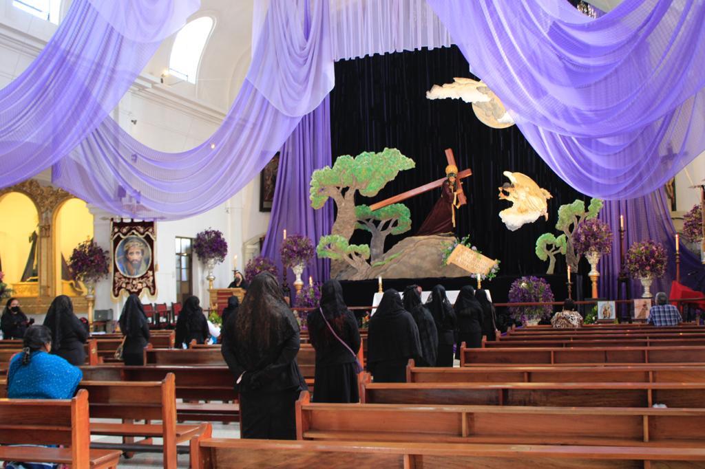 Primer domingo de Cuaresma se celebra con eucarísticas y velaciones