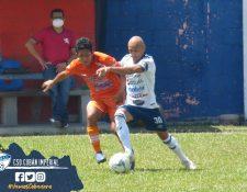 Achuapa supera al conjunto cobanero en el partido de la fecha 2 del Clausura 2021. (Foto Cobán Imperial).