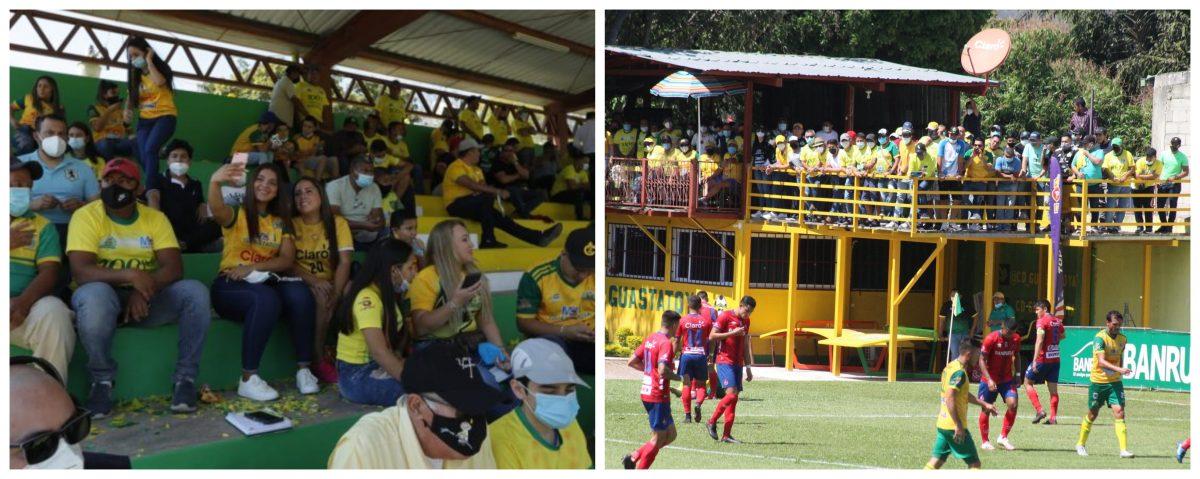 Sancionados: Guastatoya es multado con Q10 mil por permitir aficionados en la final de ida ante Municipal