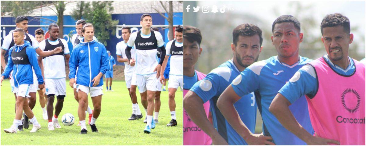 Selección de Guatemala afina detalles antes de jugar contra Nicaragua, que llega al país esta tarde