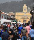 Antigua Guatemala es uno de los municipios que logró superar una tasa de 0.8 pruebas por mil habitantes, según la última actualización del semáforo. (Foto Prensa Libre: Hemeroteca PL)