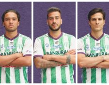 Hernández, Martínez y Aguilar dejan de ser jugadores de Antigua GFC. (Foto Prensa Libre: Twitter Antigua GFC)