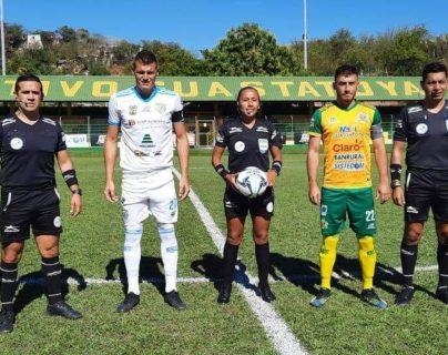 Clausura 2021: Astrid Gramajo dirigirá el juego Comunicaciones vs Santa Lucía Cotzumalguapa, el segundo en Liga Nacional