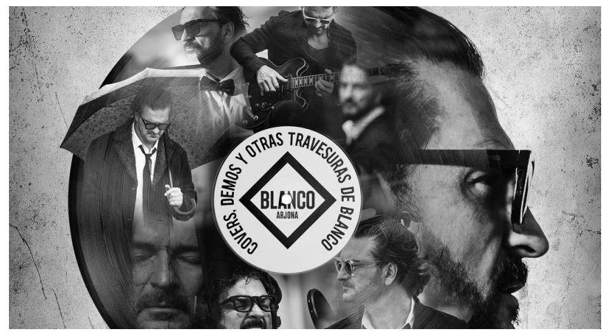 """""""Covers, demos y otras travesuras de Blanco"""", el disco de Ricardo Arjona que cuenta con invitados de lujo"""
