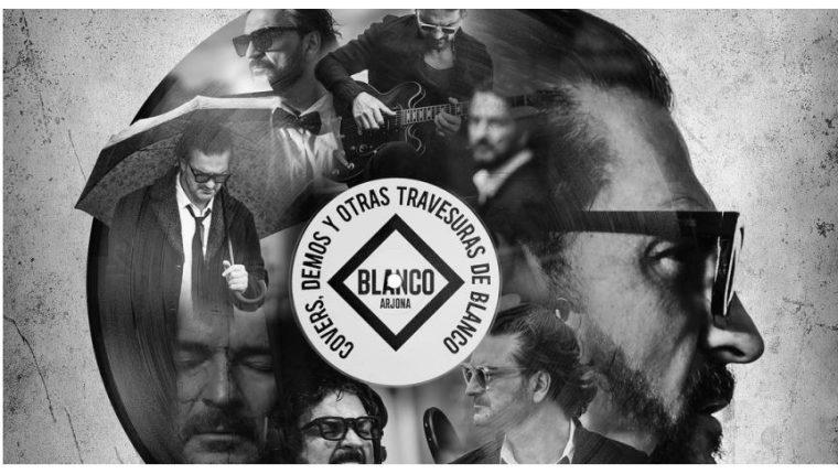 """Ricardo Arjona promociona el disco """"Covers, demos y otras travesuras de Blanco"""". (Foto Prensa Libre: Cortesía Metamorfosis)"""