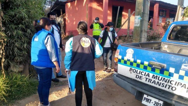 En el rescate de la menor participaron varias entidades y autoridades. (Foto: MP)