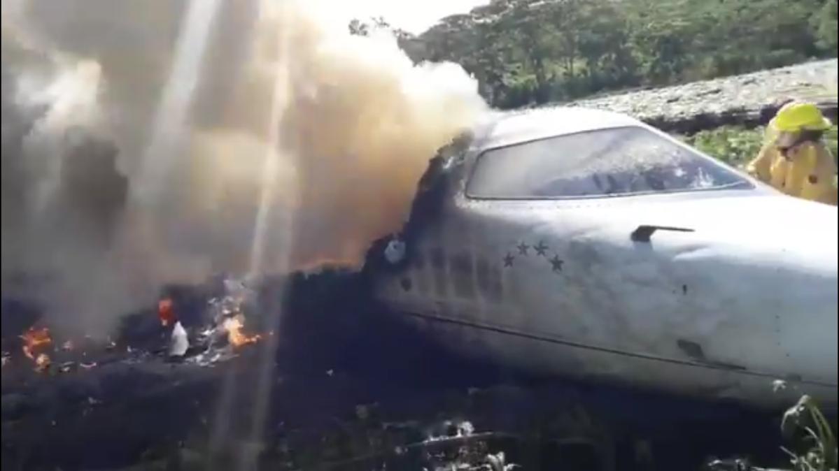 Seis militares mexicanos fallecen tras accidente aéreo en Veracruz