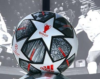 Así es el nuevo balón de la Champions League que conmemora el 20 aniversario de diseño estrellado