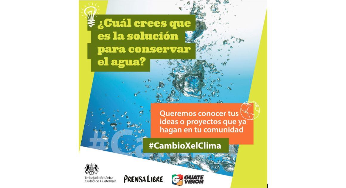 #CambioXelClima: campaña busca ideas novedosas para proteger el ambiente