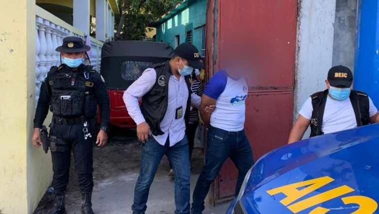 dwin Wellington Orellana Solórzano, de 29 años, sindicado de violación y secuestro contra una joven de 14 años en Puerto San José, Escuintla. (Foto Prensa Libre: PNC)