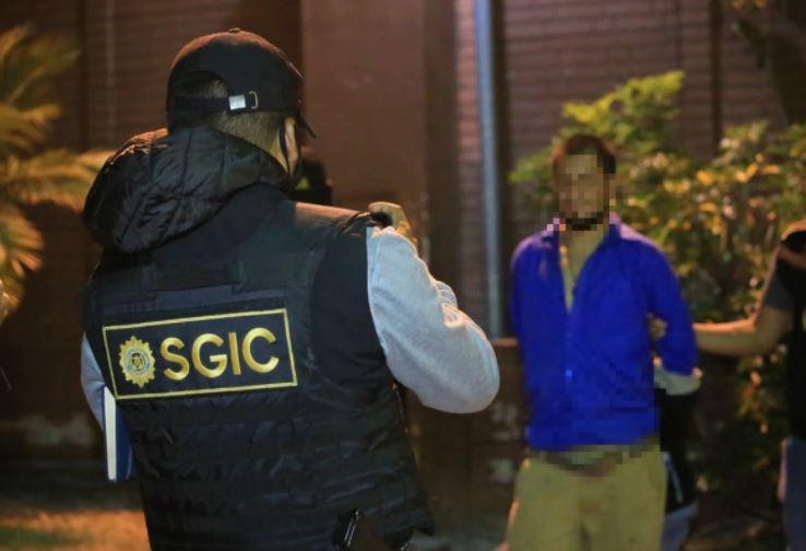 Capturan a encargado de logística y distribuidor de armas de pandillas que operan en Mixco
