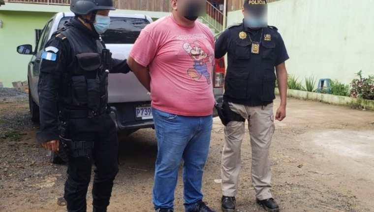 Una de las 11 personas detenidas por tráfico de personas en operativos en Izabal y Petén. (Foto Prensa Libre: MP)