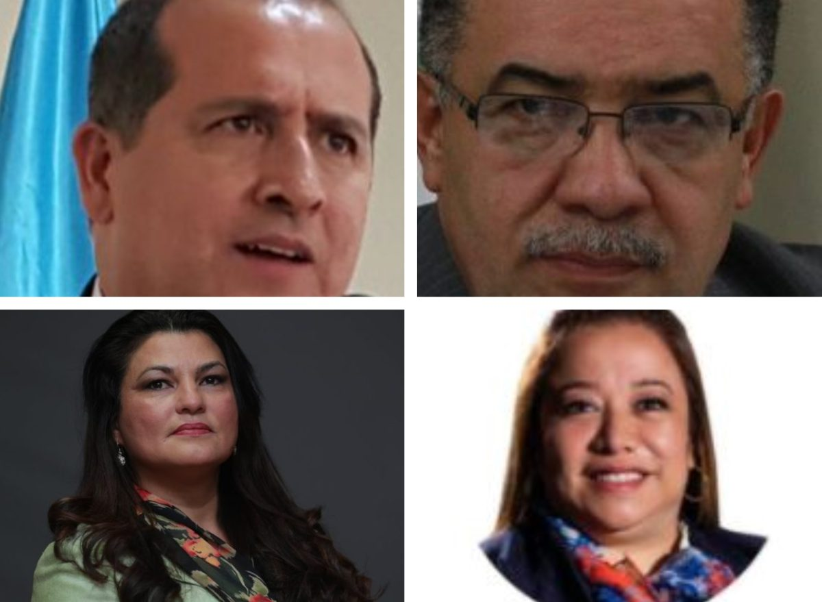 Elección CC: Estos son los cuatro abogados que pasan a segunda vuelta por magistraturas