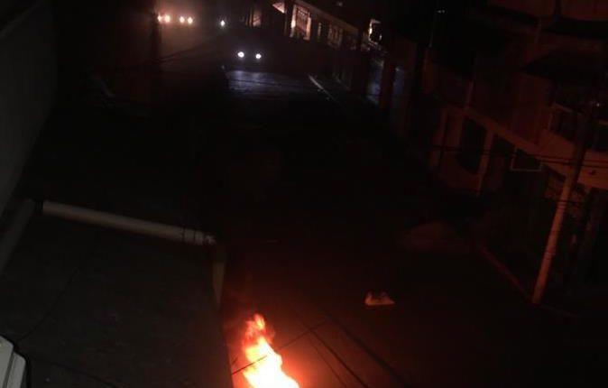 El centro de Malacatán quedó sin energía debido a un sabotaje en la subestación del INDE. (Foto: Cortesía)