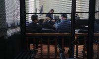 Abogados comparecen ante el Juzgado de Mayor Riesgo D para la audiencia de primera declaración. (Foto: Carlos Hernández)