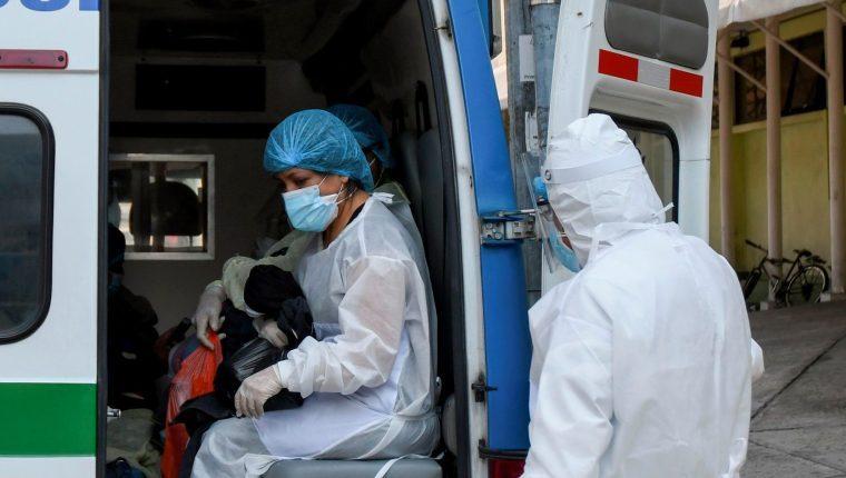 Salud reporta 783 casos de covid-19 el en los datos de las últimas 24 horas (Foto Prensa Libre: Hemeroteca PL)