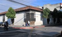 Instalaciones del Liceo FrancŽs que arriba a sus 100 a–os de fundaci—n ubicado en la 5ta avenida, y 9a calle de la zona 1.  foto Carlos Hern‡ndez 17/12/2020