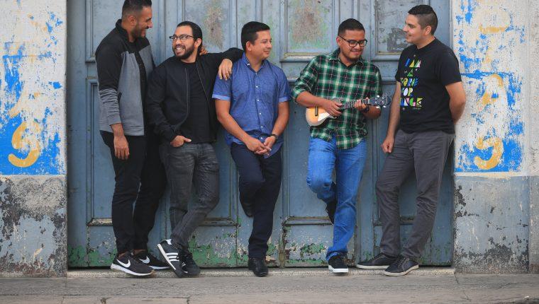 Fuego de Dios, grupo musical cristiano presenta su nuevo video Abba Padre.  (Foto Prensa Libre: Carlos Hernández).  foto Carlos Hern‡ndez 31/01/2021