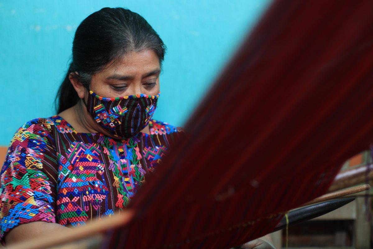 Una tradición que se teje con los colores de Guatemala