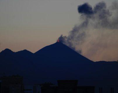 Volcán de Pacaya sigue con actividad, por lo que Insivumeh pide atender recomendaciones