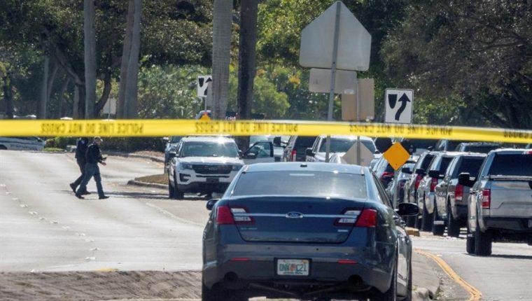 Dos agentes del FBI murieron y tres resultaron heridos en tiroteo en Florida, EE. UU. (Foto Prensa Libre: EFE)