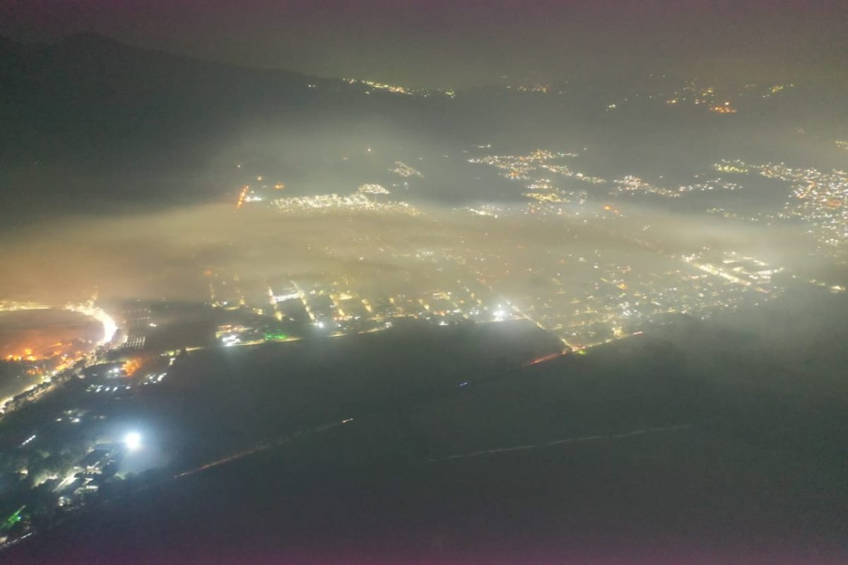 Nube de contaminación: Así se observa vía aérea el incendio en el basurero de Amsa