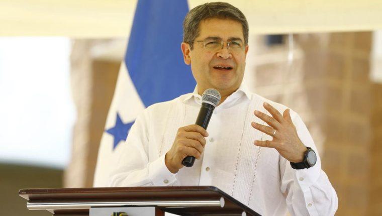 Juan Orlando Hernández, presidente de Honduras. (Foto: Hemeroteca PL)