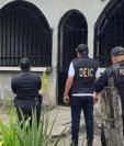 Este sábado 13 de febrero se realizaron varios allanamientos en Petén. (Foto: Ministerio Público)
