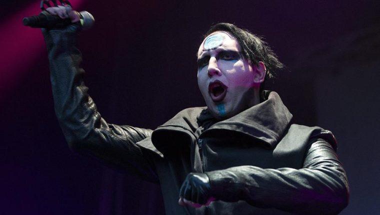 El músico estadounidense Marilyn Manson está acusado de acoso sexual. (Foto Prensa Libre: EFE)