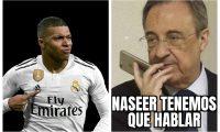 Aficionados del Real Madrid quieren que Mbappé sea fichado por el equipo. (Foto Prensa Libre: Twitter)