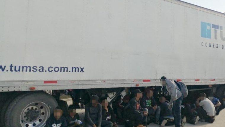 Los migrantes quedaron a disposición de Migración de México para su deportación. (Foto: INM)