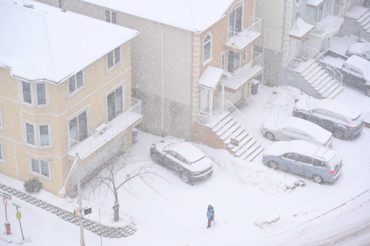 Las impresionantes fotos de la tormenta que cubrió de nieve el noreste de EE. UU.