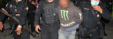 La PNC capturó a cuatro personas por el rapto de una bebé en Petén. (Foto: PNC)