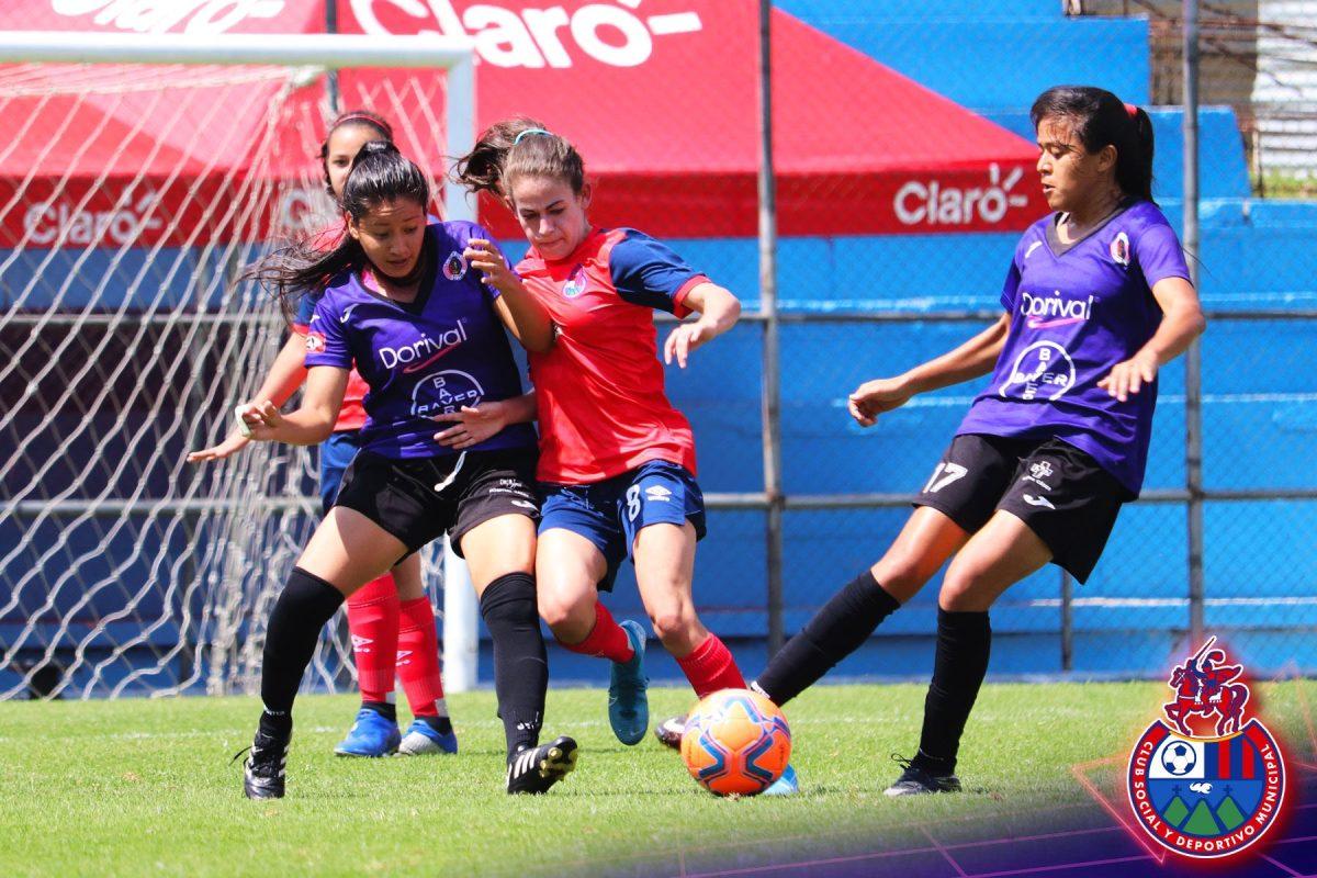 Municipal Femenino cae contra el FAS en su primer amistoso internacional