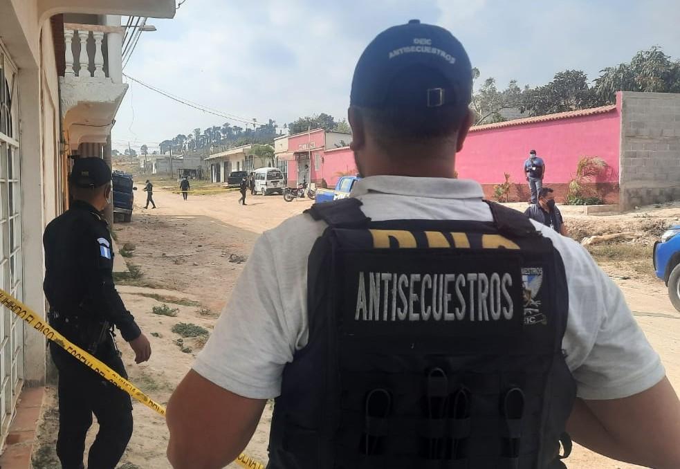 Rescatan a una mujer en Jalapa que llevaba varios días secuestrada
