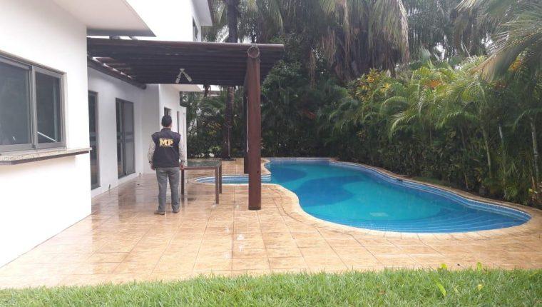 Casa de playa en proceso de extinción de dominio dentro del caso Patrullas. (Foto: MP)