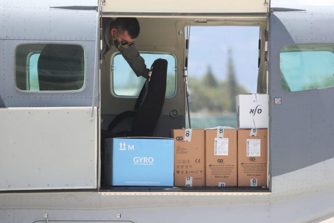 Primeras vacunas contra el coronavirus, donadas por Israel, llegan a Guatemala
