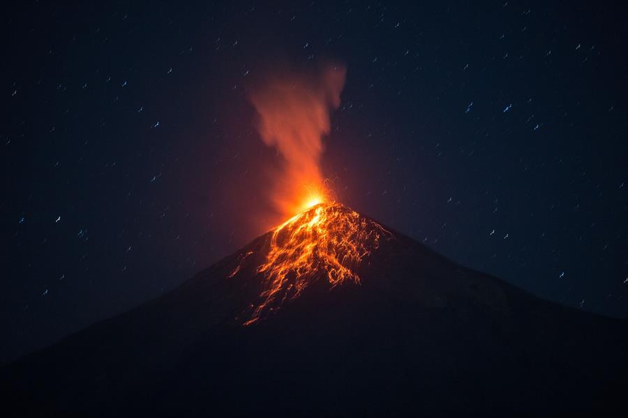 Volcán de Fuego: Insivumeh reporta hasta 15 erupciones por hora