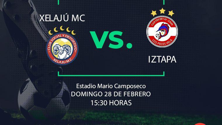 Xelajú MC enfrenta a Iztapa en la segunda jornada del Clausura 2021.