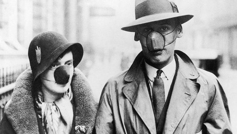 En los 1930, como ahora, no todos creían en los beneficios de cubrirse la boca y la nariz.