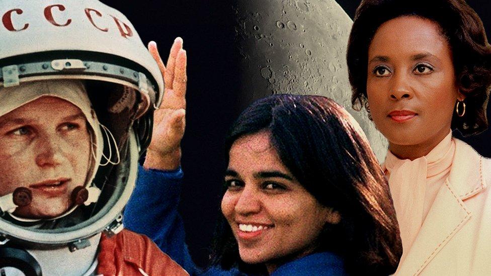 Quiénes son las pocas e ilustres mujeres que dan nombre a cráteres de la Luna