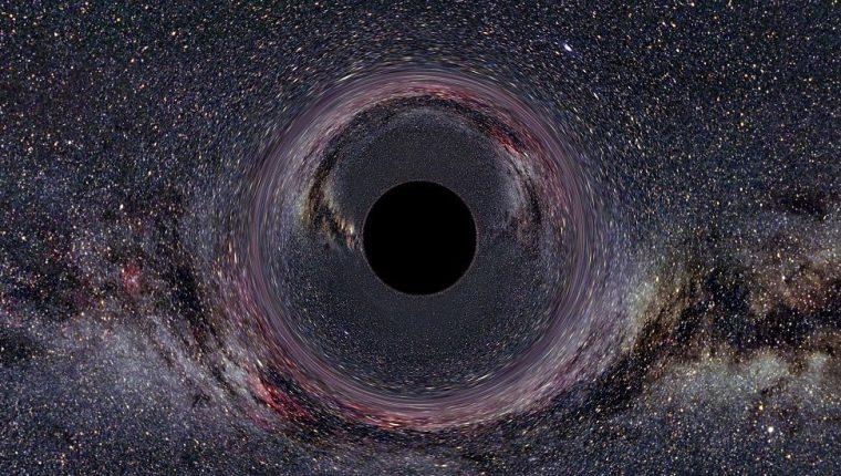 Los agujeros negros se pueden detectar a partir de ondas gravitacionales.