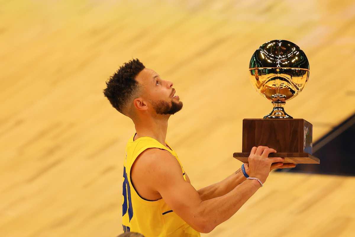 Stephen Curry conquista su segundo concurso de triples