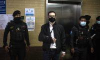 Luis Enrique Martinelli Linares intenta evitar su extradición a Estados Unidos. (Foto Prensa Libre: EFE)