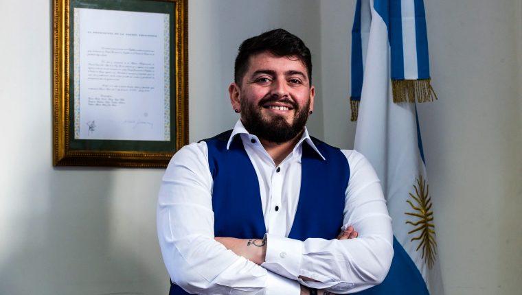 Diego Armando Maradona junior obtuvo la nacionalidad argentina este jueves. (Foto Prensa Libre: EFE)
