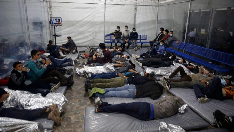 La migración irregular desde el Triángulo Norte representa un problema de seguridad interna para EE. UU. (Foto Prensa Libre: Hemeroteca PL)
