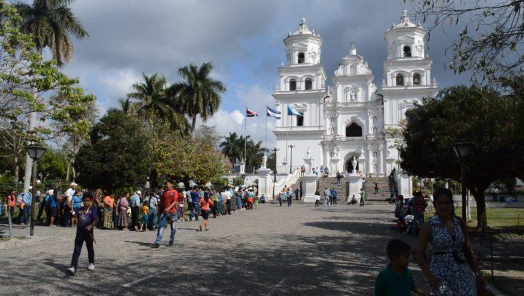 En Esquipulas, Chiquimula, se implementarán varias medidas contra el coronavirus. (Foto Prensa Libre: Elizabeth Hernández)