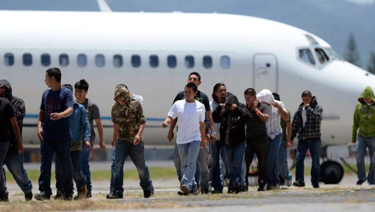 Miles de guatemaltecos han sido deportados de EE. UU. (Foto Prensa Libre: Hemeroteca PL)